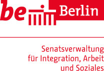 Be Berlin Logo Senatsverwaltung für Integration, Arbeit und Soziales