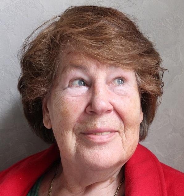 Im Bild ist die Ehrenamtliche Edith Bing im Portrait zu sehen